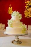 婚姻蛋糕的兰花 库存照片