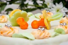 婚姻蛋糕的虚拟 库存图片