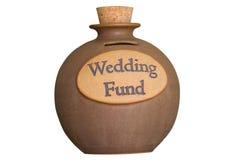婚姻资金的储蓄 库存图片