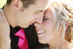 婚姻-新娘和新郎 免版税库存图片