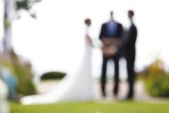 婚姻 免版税库存图片
