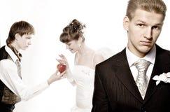婚姻6个的梦想 免版税库存照片