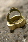 婚姻7的环形 库存照片