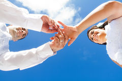 婚戒 免版税库存图片
