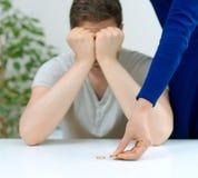 离婚概念 免版税库存照片