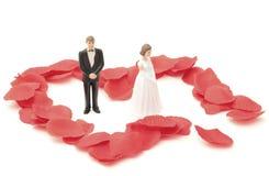 离婚的夫妇 免版税库存照片