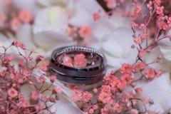 结婚的环形 库存照片
