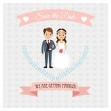结婚的设计 婚礼象 五颜六色的例证,传染媒介 库存例证