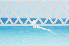 婚礼丝带和拱道 图库摄影