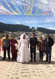 婚礼之日在墨西哥 库存图片
