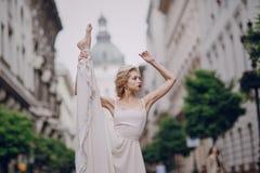婚礼之日在布达佩斯 图库摄影