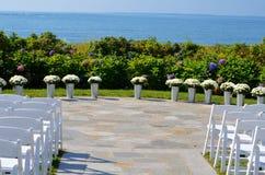 婚礼之日在缅因 免版税库存图片