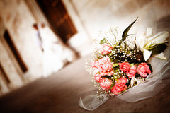 婚礼之日 免版税图库摄影