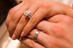 婚礼圆环2 免版税库存图片