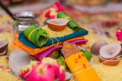 婚礼在印度 库存图片