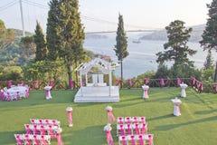 婚礼地方 免版税库存照片