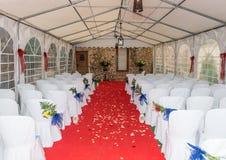 婚礼地点在Cortijo卡布雷拉 免版税库存照片