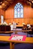 婚礼地点或教堂 库存照片