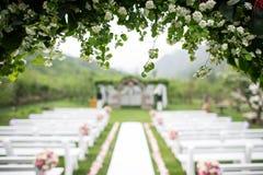 婚礼地点 库存照片