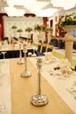 婚礼场面设计 免版税库存照片