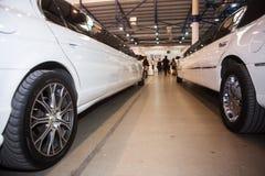 婚礼大型高级轿车 免版税库存照片