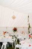 婚礼大门罩帐篷 免版税库存图片