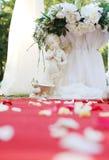 婚礼天使 库存图片