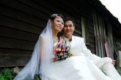 婚礼夫妇、婚礼&订婚 图库摄影
