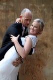 婚礼夫妇跳舞 免版税库存图片