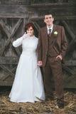 婚礼夫妇 图库摄影
