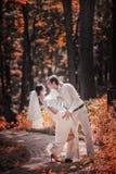 婚礼夫妇 免版税库存图片