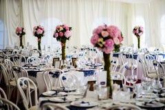 婚礼安排 免版税库存照片