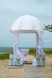 婚礼帐篷 库存图片
