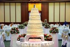 婚礼庆祝当事人,会议厅 免版税库存图片