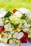 婚礼开花花束 库存图片