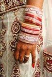 婚礼手镯 库存照片