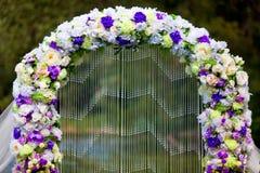 婚礼拱道 库存图片