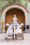 婚礼教堂 库存图片
