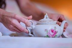 婚礼早餐 免版税库存图片