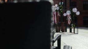婚礼曲拱 股票视频