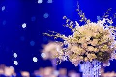 婚礼桌 免版税图库摄影