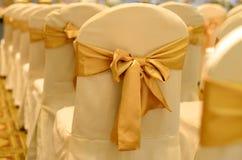 婚礼椅子。 库存图片