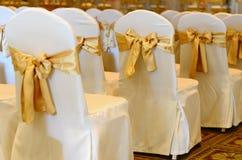 婚礼椅子。 免版税图库摄影