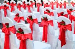 婚礼椅子。 图库摄影