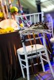 婚礼椅子 库存图片