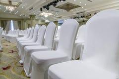 婚礼椅子 免版税库存照片