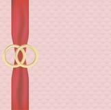 婚礼横幅 免版税库存图片
