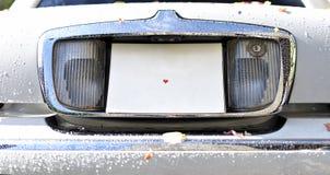 婚礼汽车 库存照片