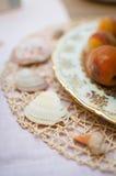 婚礼海和海洋装饰 库存图片