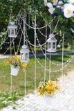婚礼灯笼 库存图片